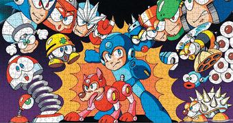 Quebra-Cabeça Mega Man com 1.000 Peças