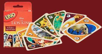 Jogo de Cartas UNO Rei Leão (1994)