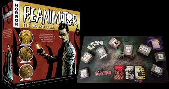 Jogo de Tabuleiro 3D Re-Animator de H.P. Lovecraft