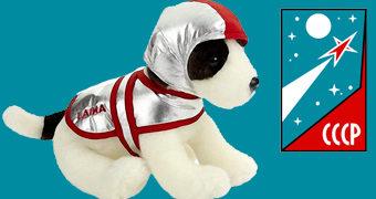 Laika, a Cadela Espacial Soviética de Pelúcia