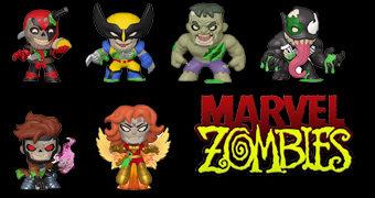 Zumbis Marvel Mystery Minis – Mini-Figuras Funko Blind-Box