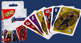 Jogo de Cartas UNO Vingadores (Avengers)