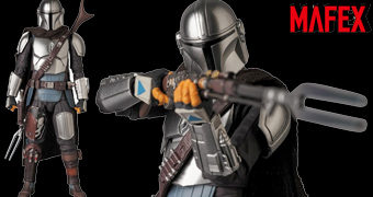 Mandaloriano MAFEX – Action Figure Medicom 1:12 da Série Star Wars: The Mandalorian