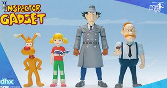 Action figures do Desenho Animado Inspetor Bugiganga (Inspector Gadget)