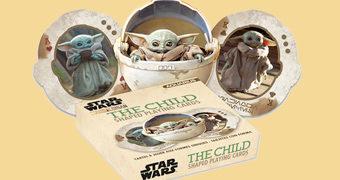 Baralhos Baby Yoda da Série Star Wars: The Mandalorian