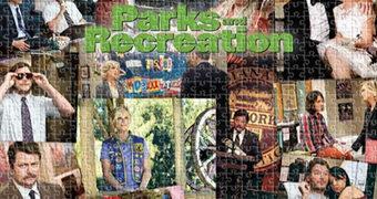 Quebra-Cabeça da Série Parks & Recreation com 500 Peças