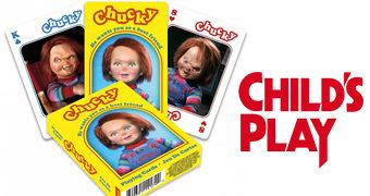 Baralho Chucky, o Brinquedo Assassino