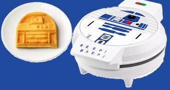 Máquina de Waffles R2-D2 Star Wars