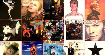 """Quebra-Cabeça David Bowie """"Albums"""" com 1.000 Peças"""