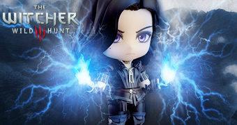 Boneca Nendoroid da Feiticeira Yennefer de Vengerberg em The Witcher 3: Wild Hunt