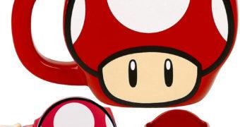 Caneca Super Cogumelo do Super Mario!
