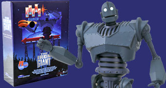 "Action Figure O Gigante de Ferro ""Cosmo Burger"" Deluxe Box Set (The Iron Giant)"