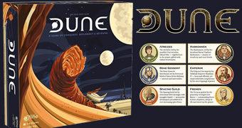 Jogo de Tabuleiro Dune Board Game da Série de Livros Duna de Frank Herbert