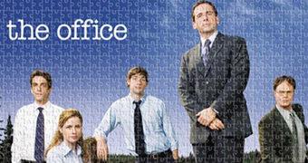 Quebra-Cabeças da Série The Office com 500 e 1.000 Peças