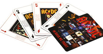 "Baralho AC/DC ""In Rock We Trust"""