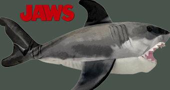 Tubarão Bruce de Pelúcia com 13 cm de Comprimento