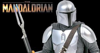 Busto Star Wars Mandalorian com Armadura MK3 Beskar e Escala 1:6 (SDCC)