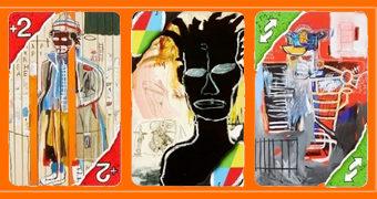 Jogo de Cartas UNO Artiste Series: Jean-Michel Basquiat