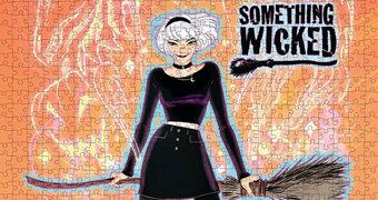 Quebra-Cabeça Sabrina, a Bruxa Adolescente com 1.000 Peças