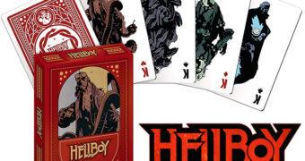 Baralho Hellboy de Mike Mignola