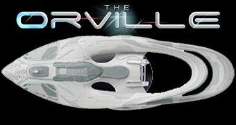 Naves Espaciais da Série The Orville de Seth MacFarlane