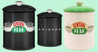 Potes de Cookies Central Perk da Série Friends