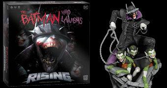 Jogo de Tabuleiro The Batman Who Laughs Rising (Batman que Ri)