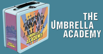 "Lancheira Umbrella Academy (Netflix) ""Lunchbox Replica"""