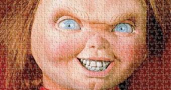 Quebra-Cabeça Chucky Brinquedo Assassino com 500 Peças
