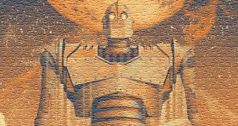 Quebra-Cabeça O Gigante de Ferro (The Iron Giant) com 1.000 Peças