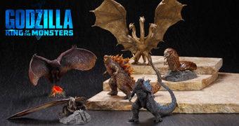Mini Kaijus Godzilla II Rei dos Monstros