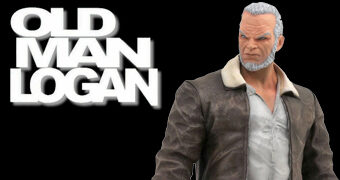 Estátua Velho Logan (Old Man Logan) Marvel Premiere Collection (Diamond Select)