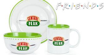 Jogo de Pratos Central Perk da Série Friends