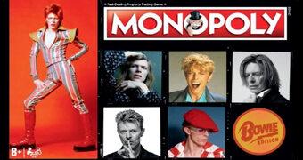 Jogo Monopoly David Bowie