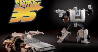 De Volta Para os Transformers: DeLorean vira Gigawatt