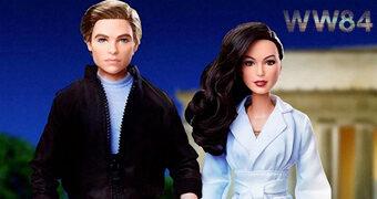 Bonecas Barbie Wonder Woman 1984: Diana Prince e Steve Trevor