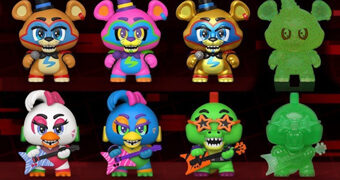 Five Nights at Freddy's: Security Breach Mystery Minis – Mini-Figuras Funko Blind-Box