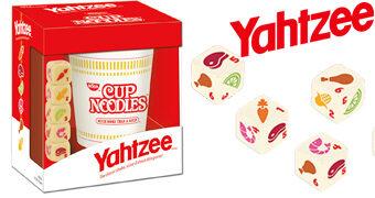 Jogo Yahtzee Cup Noodles