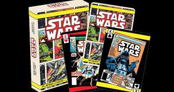 Baralho Star Wars Comic Books com Capas das Histórias em Quadrinhos Clássicas