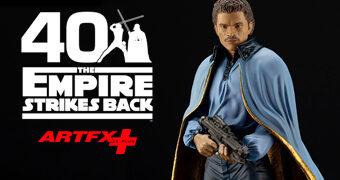 Lando Calrissian ArtFX+ Star Wars O Império Contra-Ataca 40 Anos – Estátua Kotobukiya 1:10