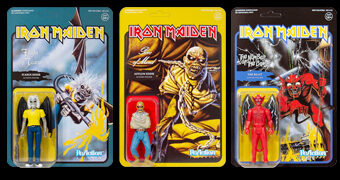 Iron Maiden ReAction – Action Figures Retro do Mascote Eddie