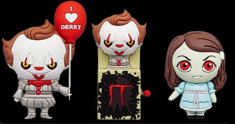 Mini-Figuras Monogram Horror Properties 3D Figural Bag Clip Série 5 (Blind-Box)