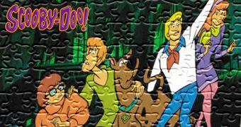 Quebra-Cabeça Scooby-Doo na Mansão Assombrada com 1.000 Peças