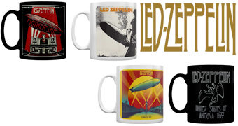 Canecas Led Zeppelin (Dia Mundial do Rock)