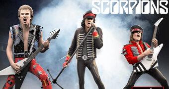 Scorpions Rock Iconz: Klaus Meine, Rudolf Schenker e Matthias Jabs