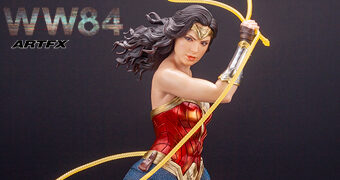 Wonder Woman 1984 ArtFX – Estátua Kotobukiya 1:6 Mulher Maravilha