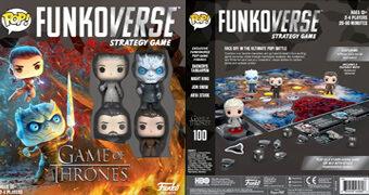Jogo de Tabuleiro Game of Thrones Pop! Funkoverse