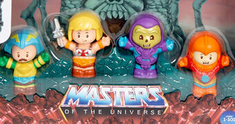 Bonecos He-Man e os Mestres do Universo Little People (Fisher-Price)