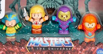 Bonecos He-Man e os Mestres do Universo Little People (Fisher-Price)