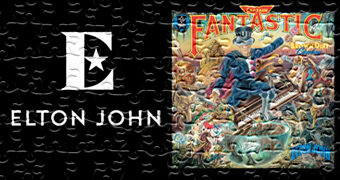 Quebra-Cabeças Elton John Album Covers: Don't Shoot Me I'm Only the Piano Player, Goodbye Yellow Brick Road e Captain Fantastic and the Brown Dirt Cowboy